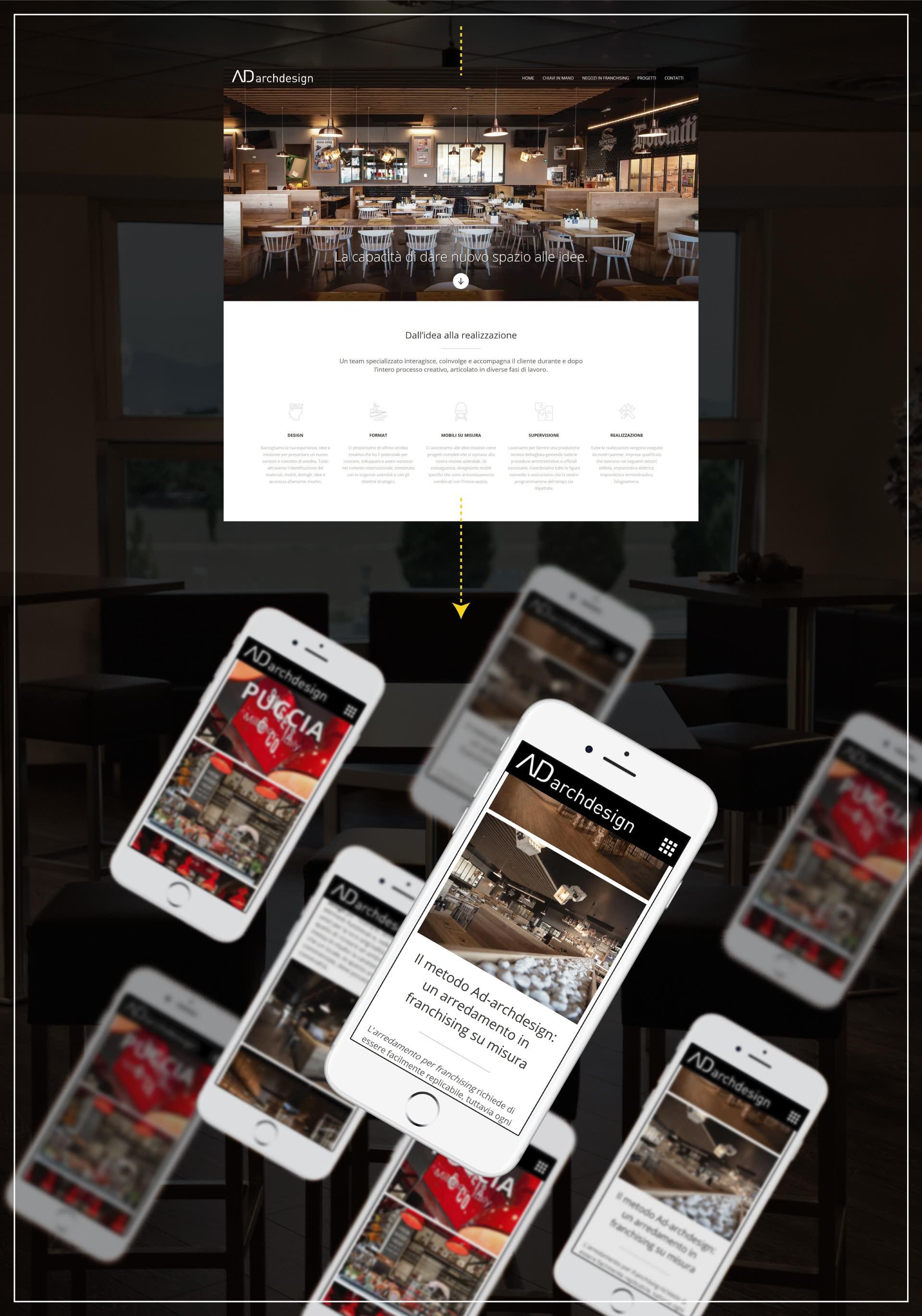 Sito web e seo Ad ArchDesign