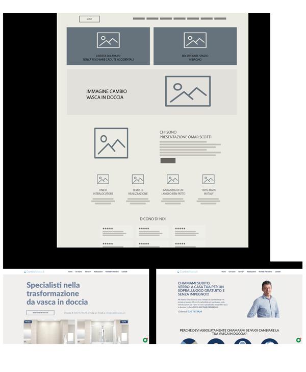 Sito web e campagne ADS Cambio Vasca