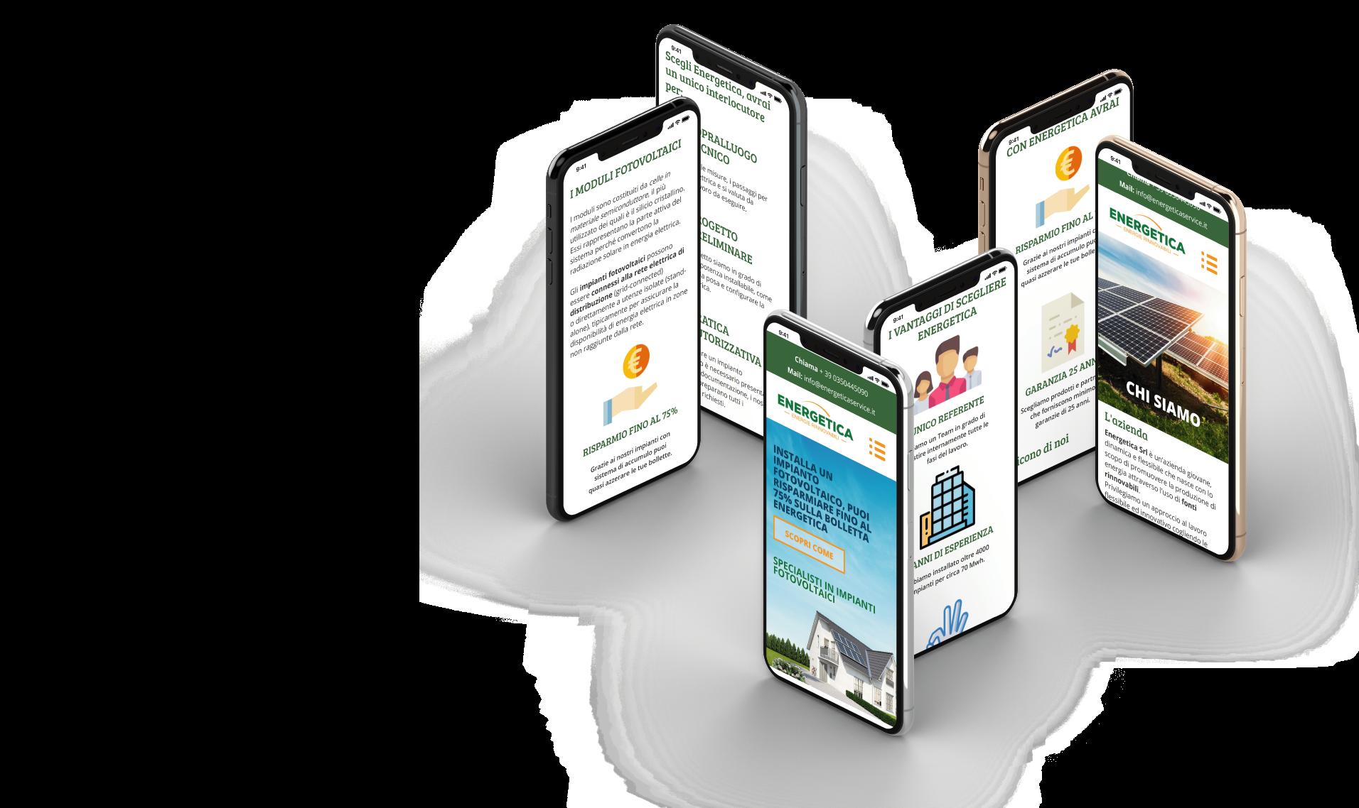 Sito web Energetica Service